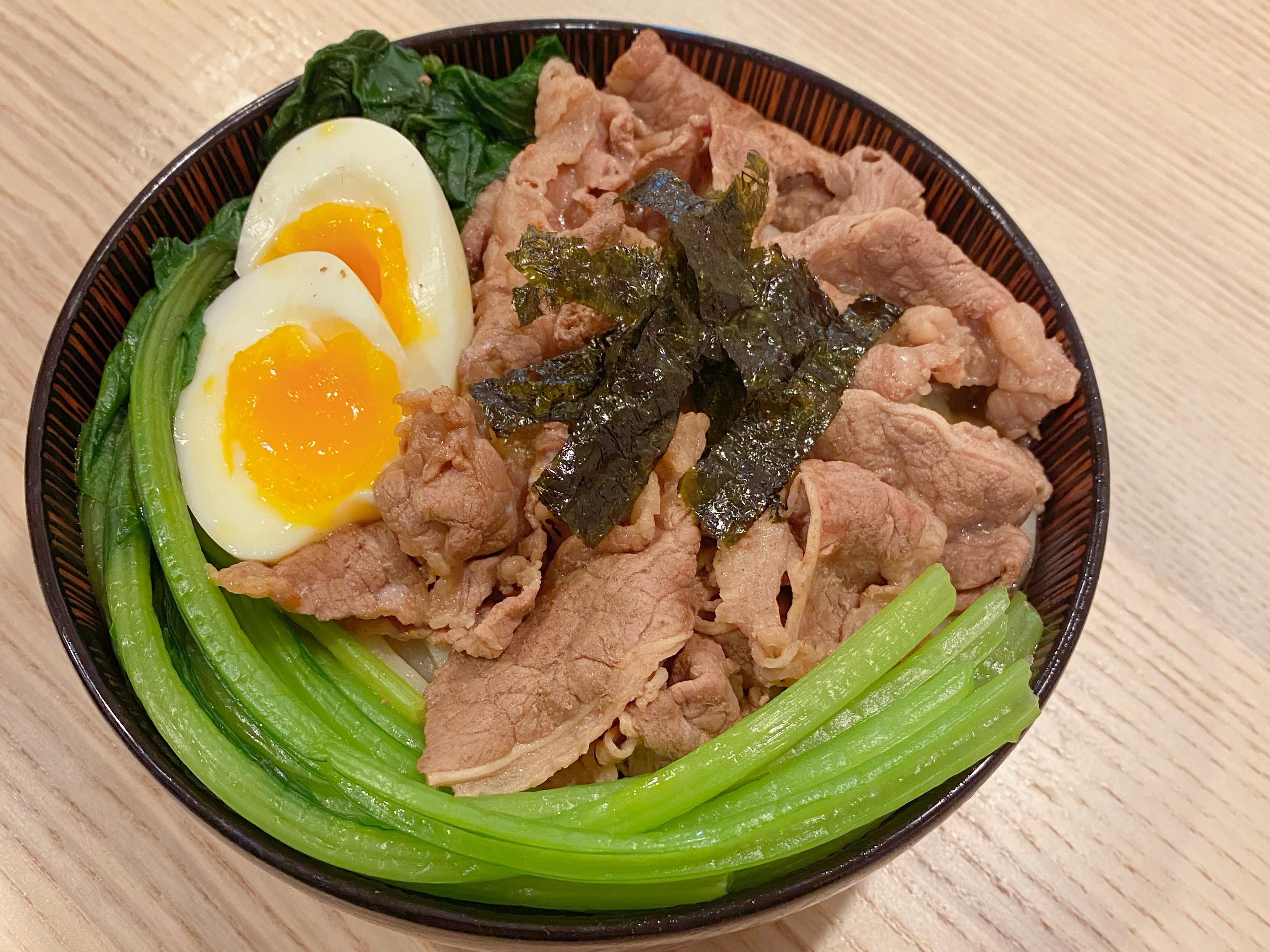日式牛肉烏龍麵