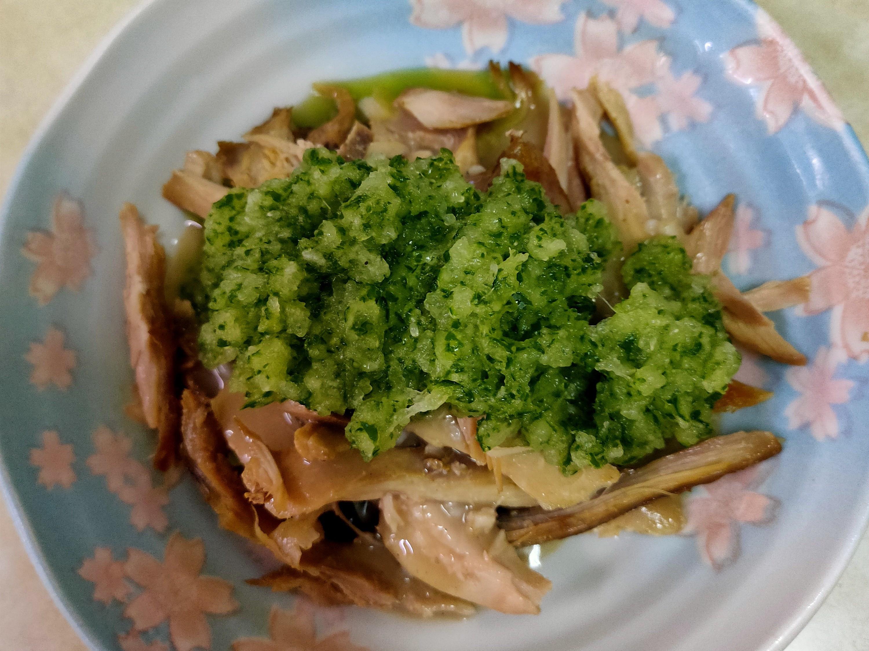 小黃瓜米槳滷雞絲沙拉
