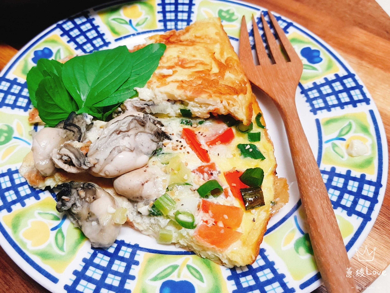鮮蚵雞蛋豆腐起司烘蛋