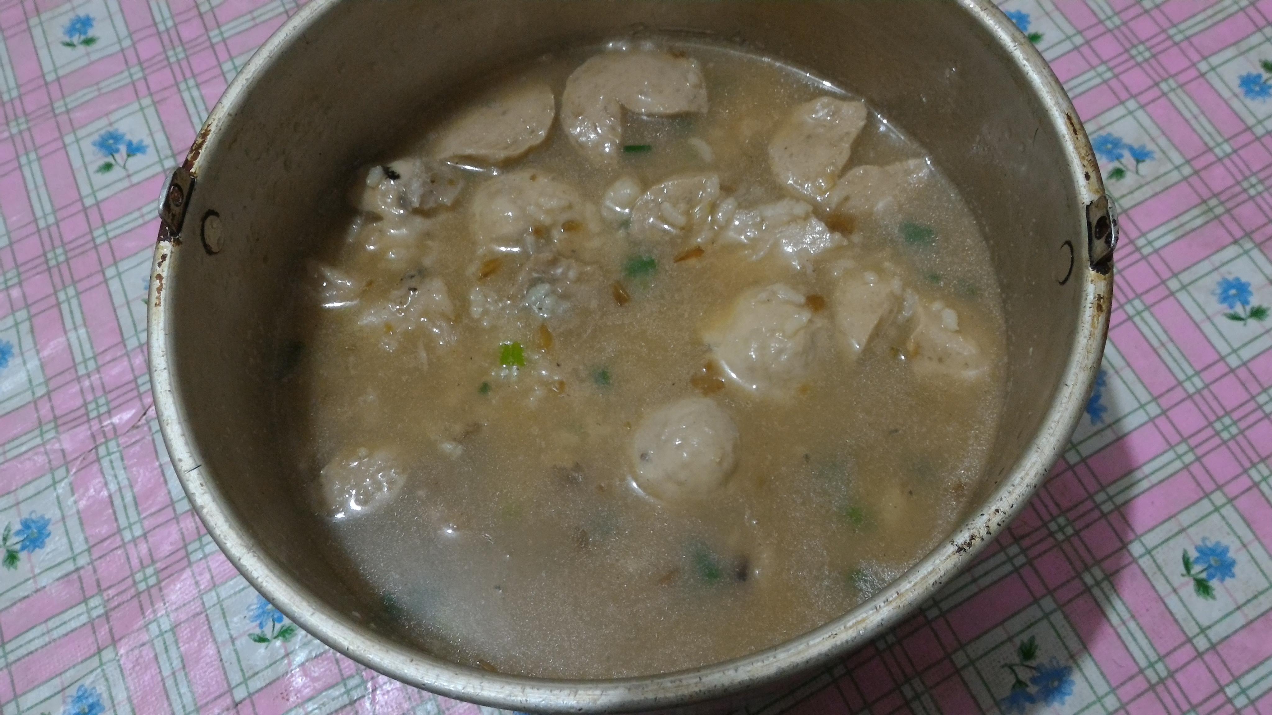 芋頭丸子粥