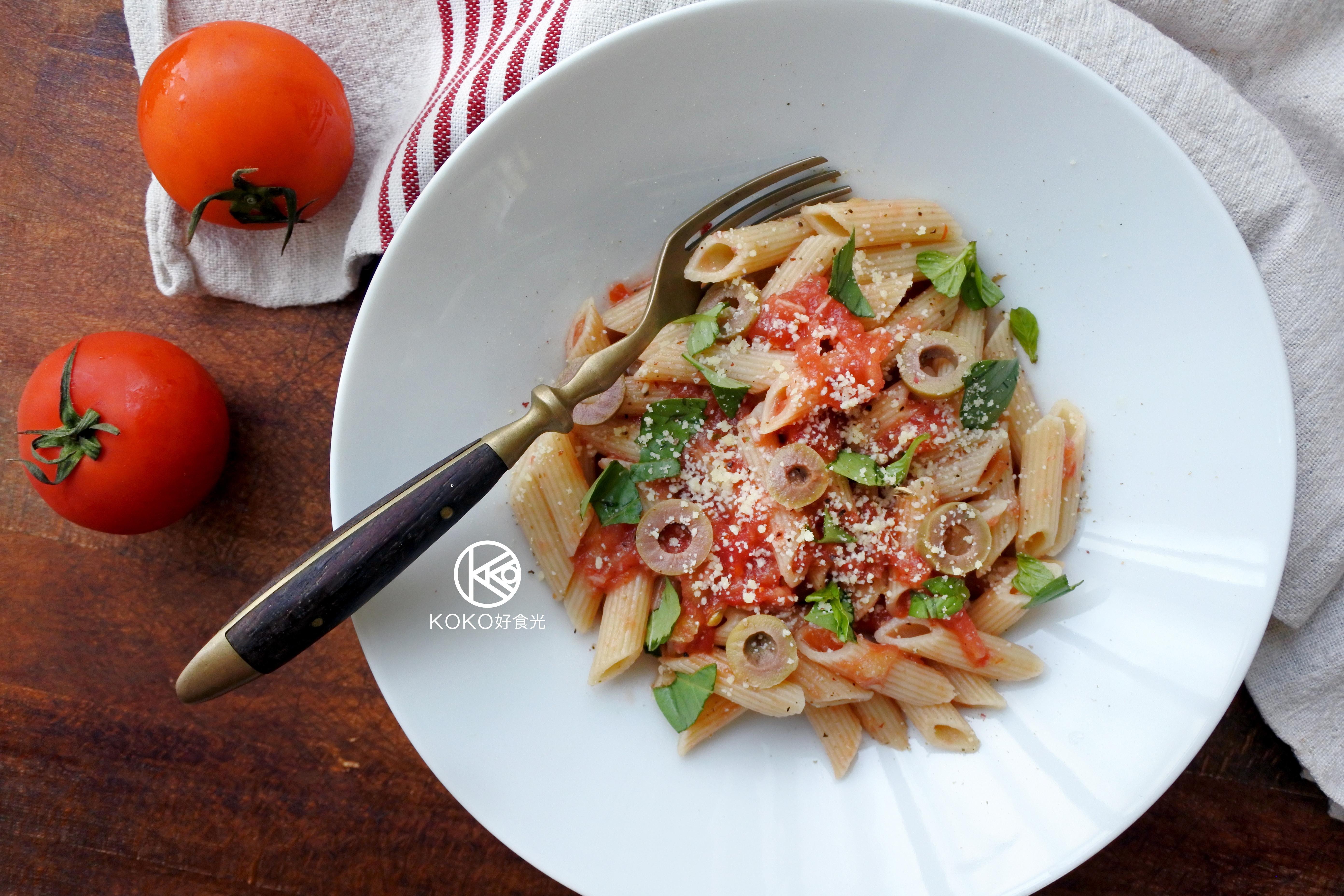 免煮新鮮蕃茄義大利麵