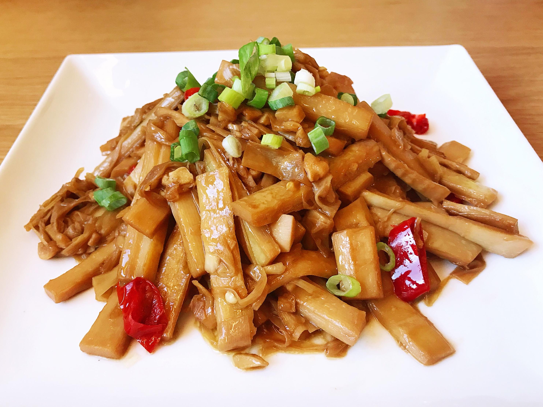 油燜筍(簡易/便當菜)