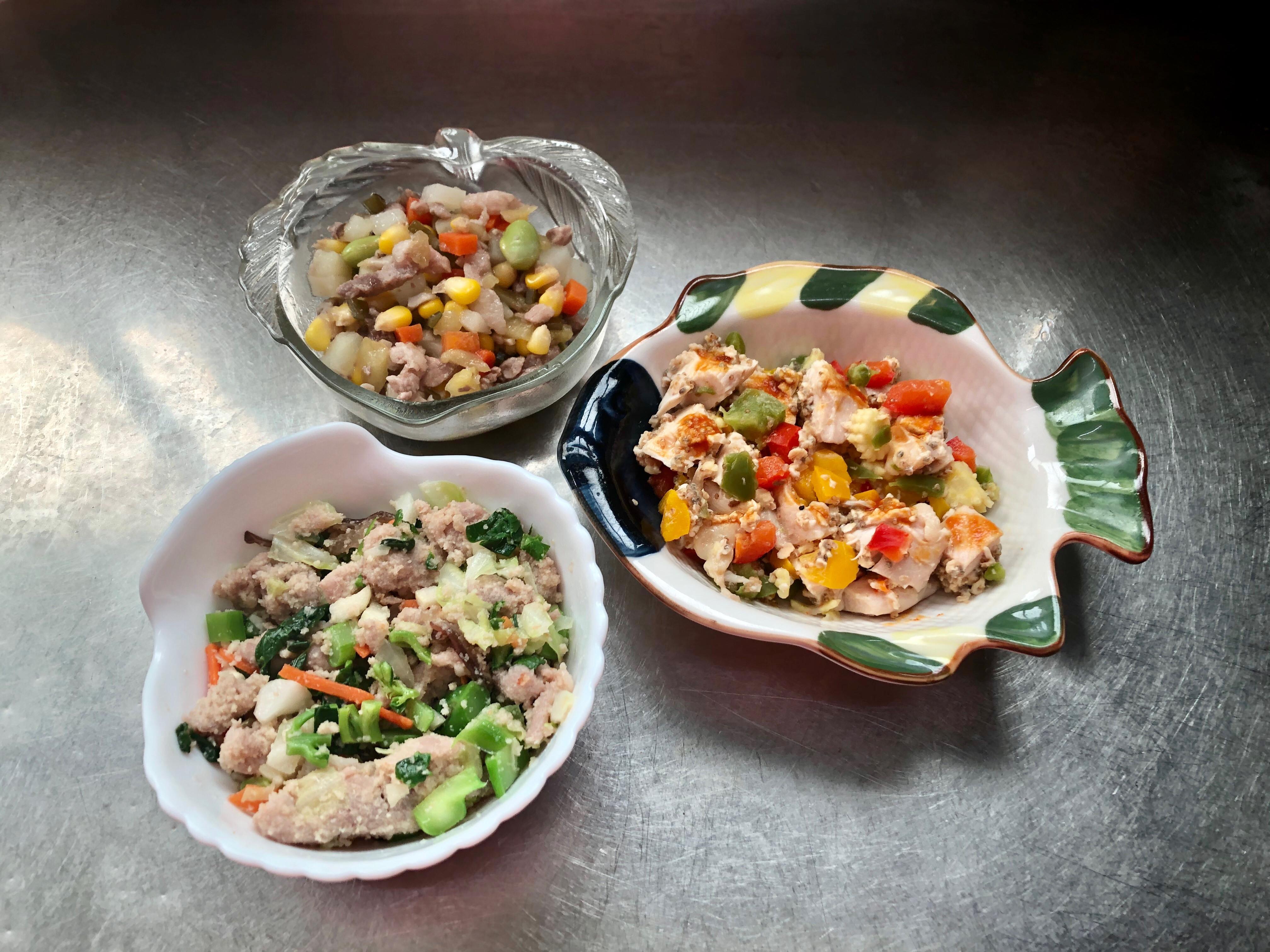 鮮食🐾蔬菜燉肉 芥蘭炒肉 薑黃茄汁沙拉