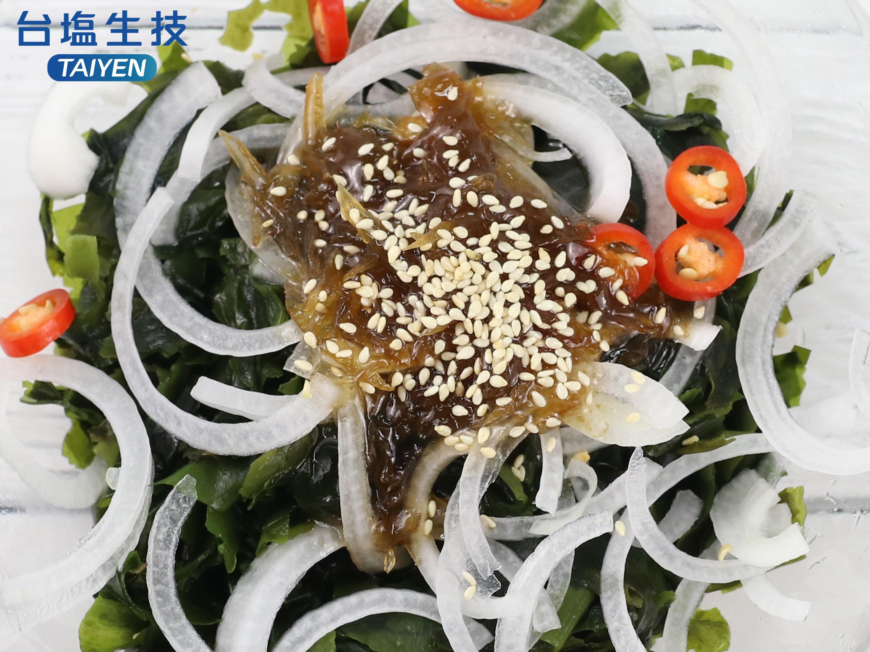 【台鹽料理教室】韓式柚子醬涼拌海帶芽