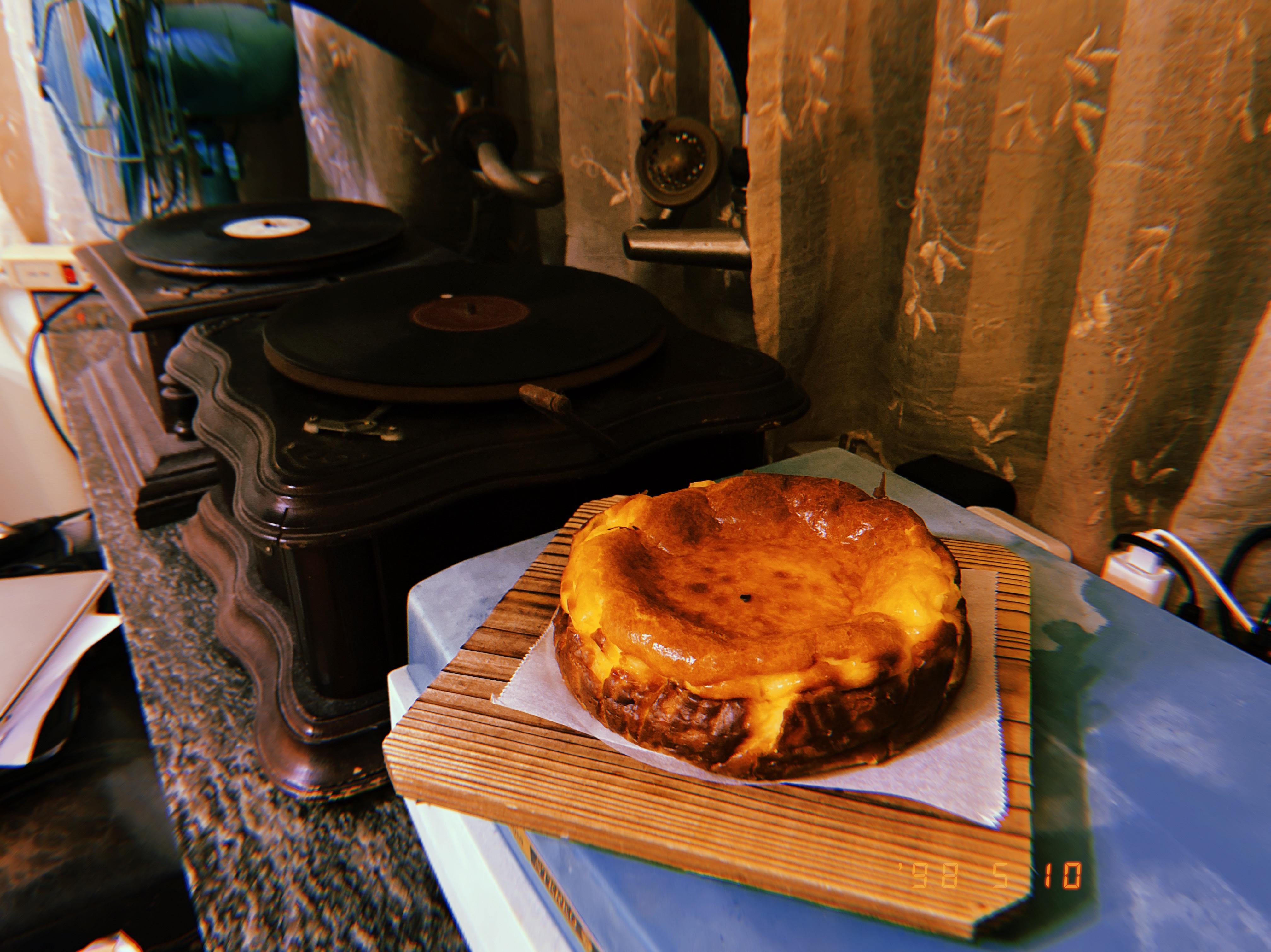 巴斯克乳酪蛋糕🧀️