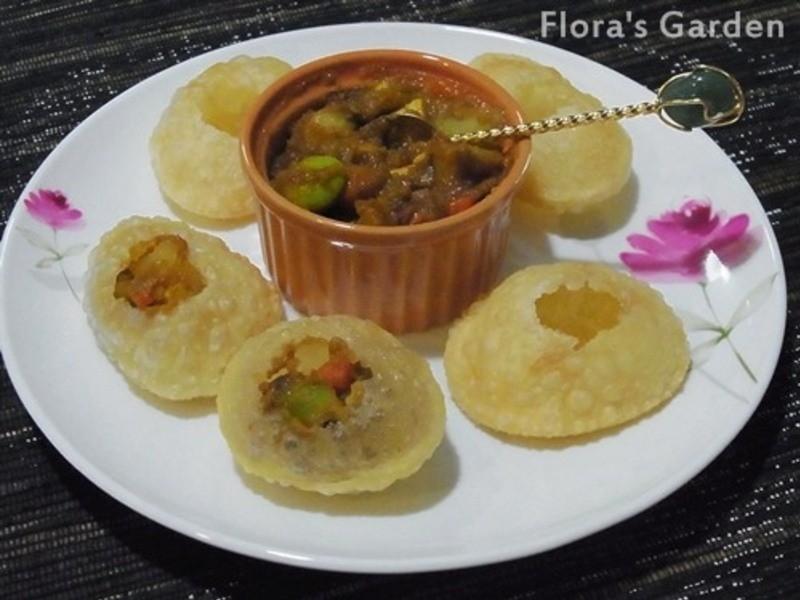 黃金玄米油Home炸料理-印度炸餅Pani Puri