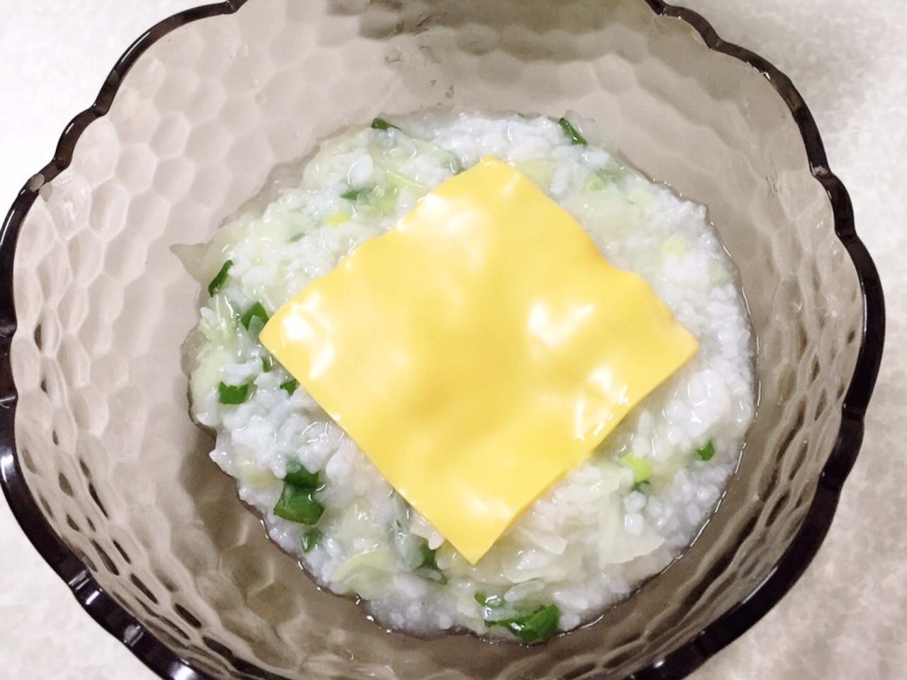起司蔬菜粥(老葉私房料理)