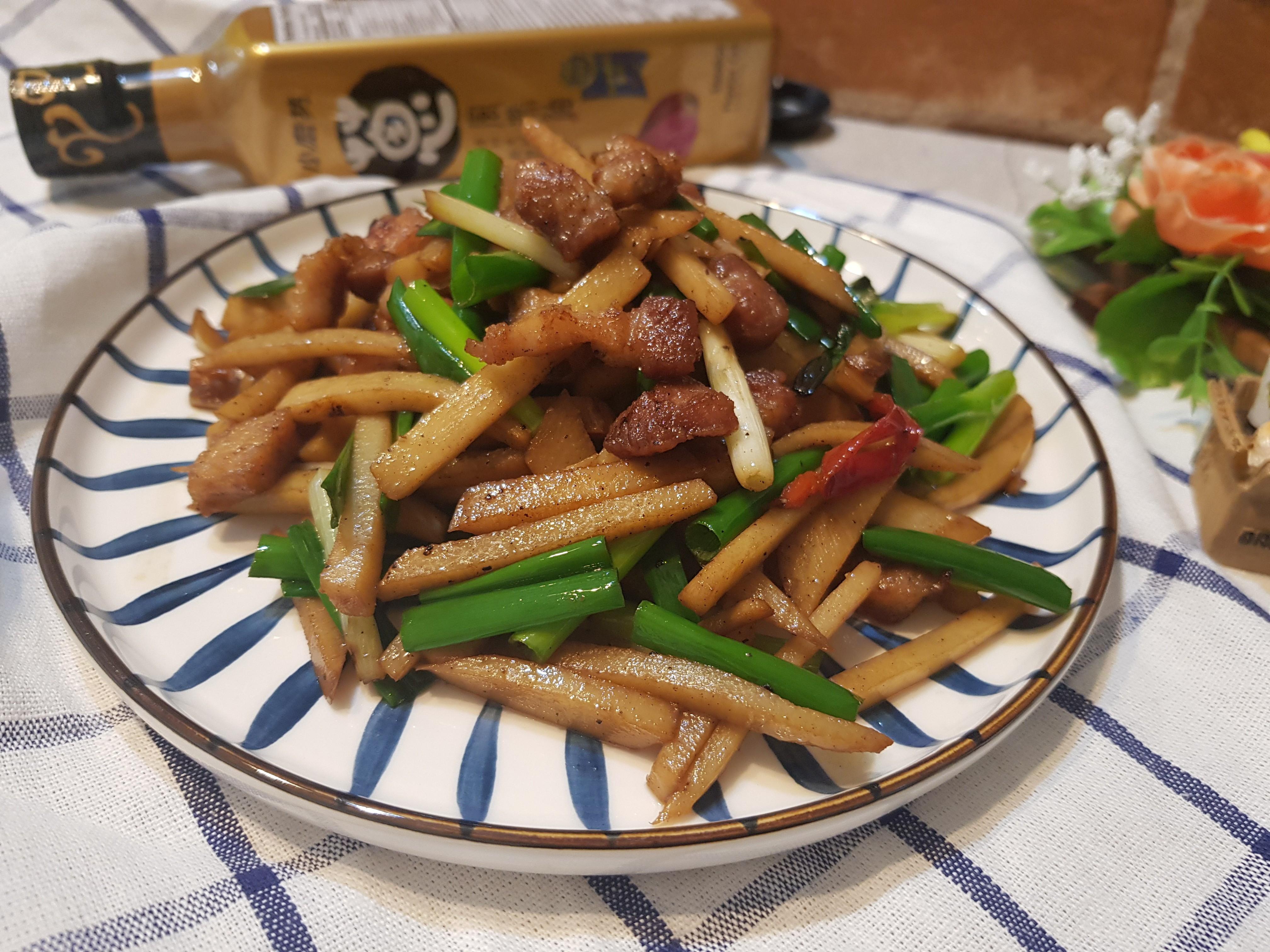 醬香竹筍炒豬肉