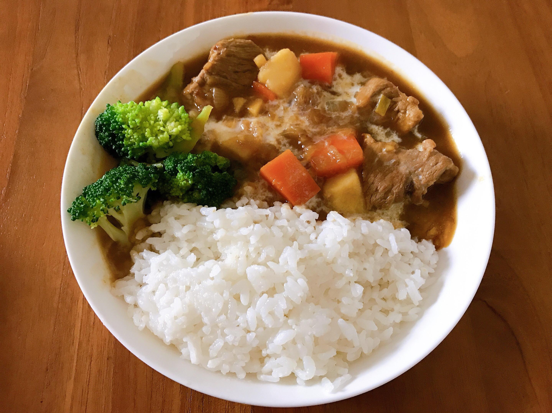 WMF低燉湯鍋全料理-好侍咖哩豬肉飯