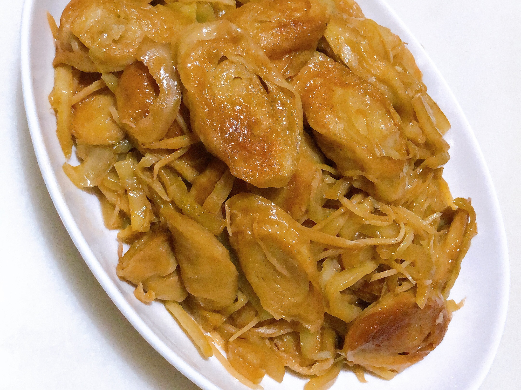 白飯殺手-酸菜炒麵腸