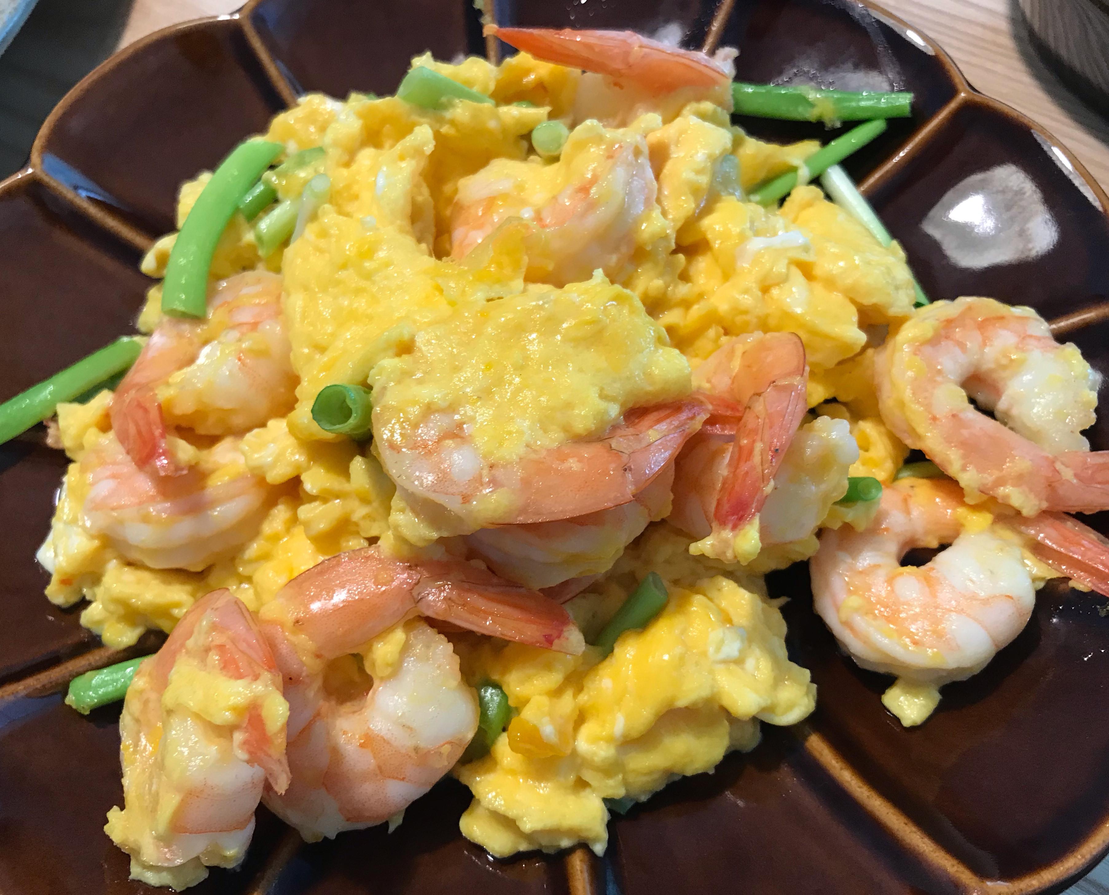 蝦仁炒蛋(好市多料理)