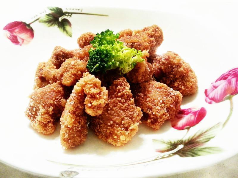 【黃金玄米油Home炸料理】 之 香噴噴酥炸梅花肉