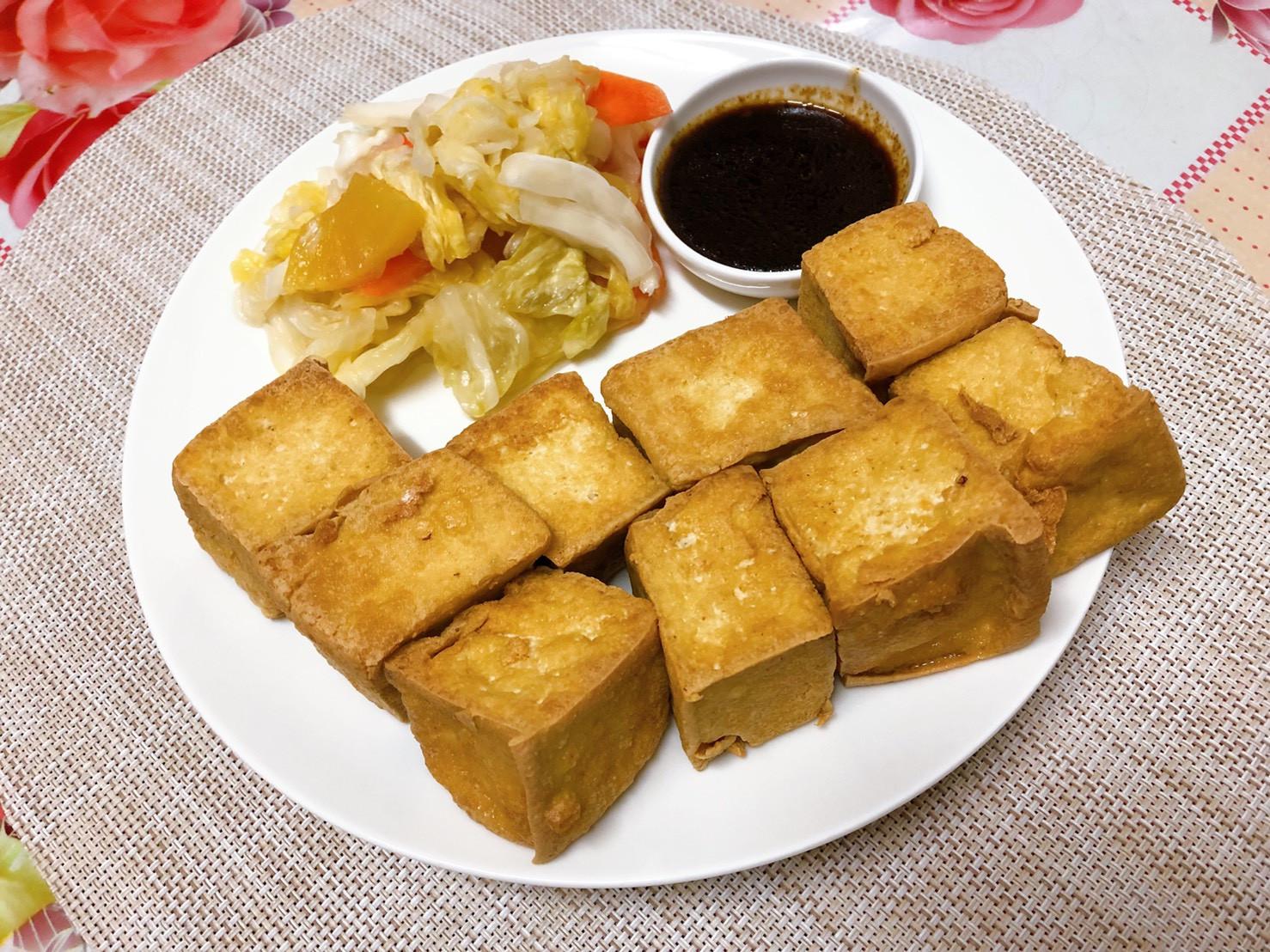 只要兩個步驟_即享台灣美食台式(臭)豆腐
