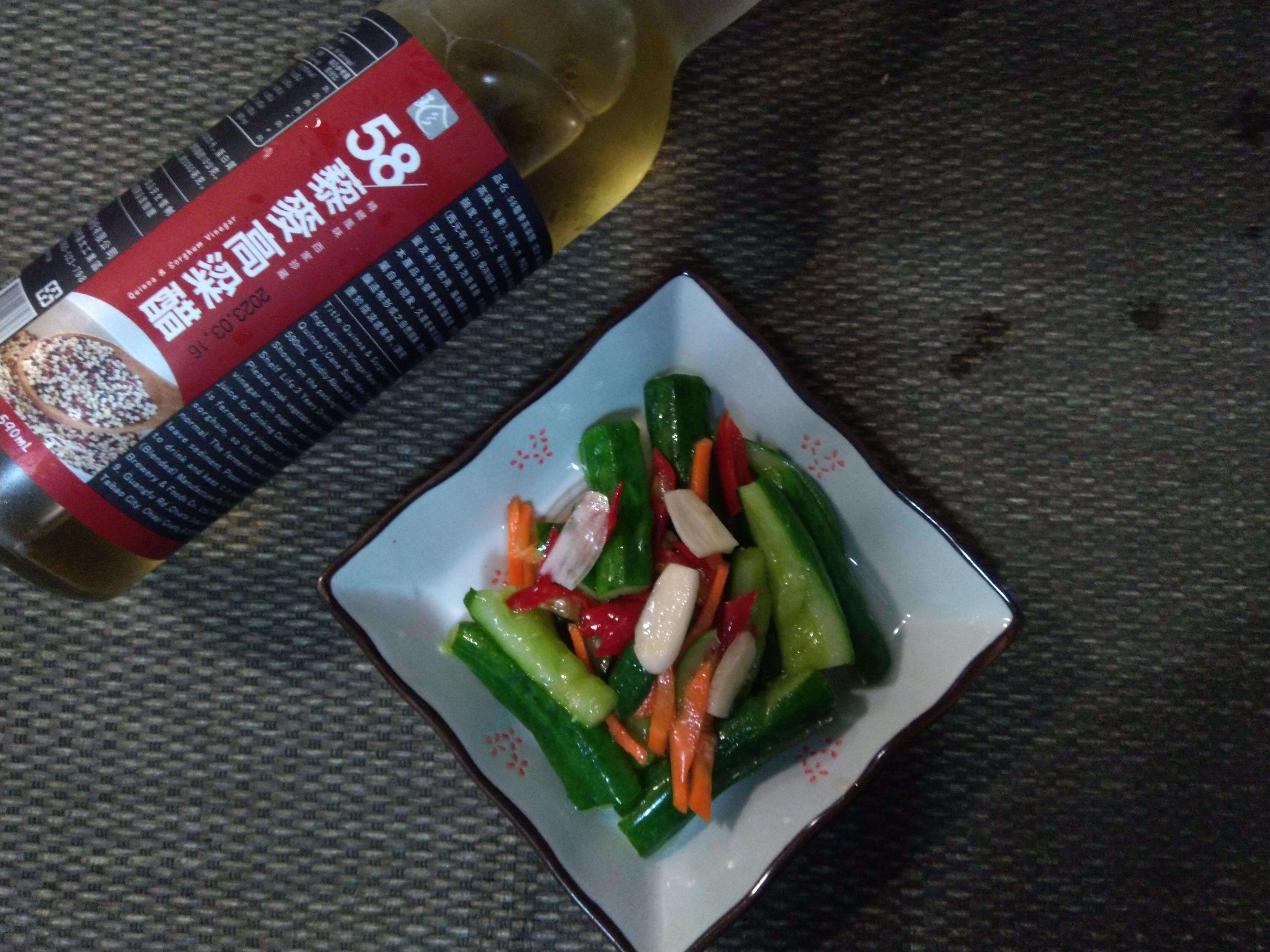 香蒜辣味小黃瓜【58藜麥高粱醋】