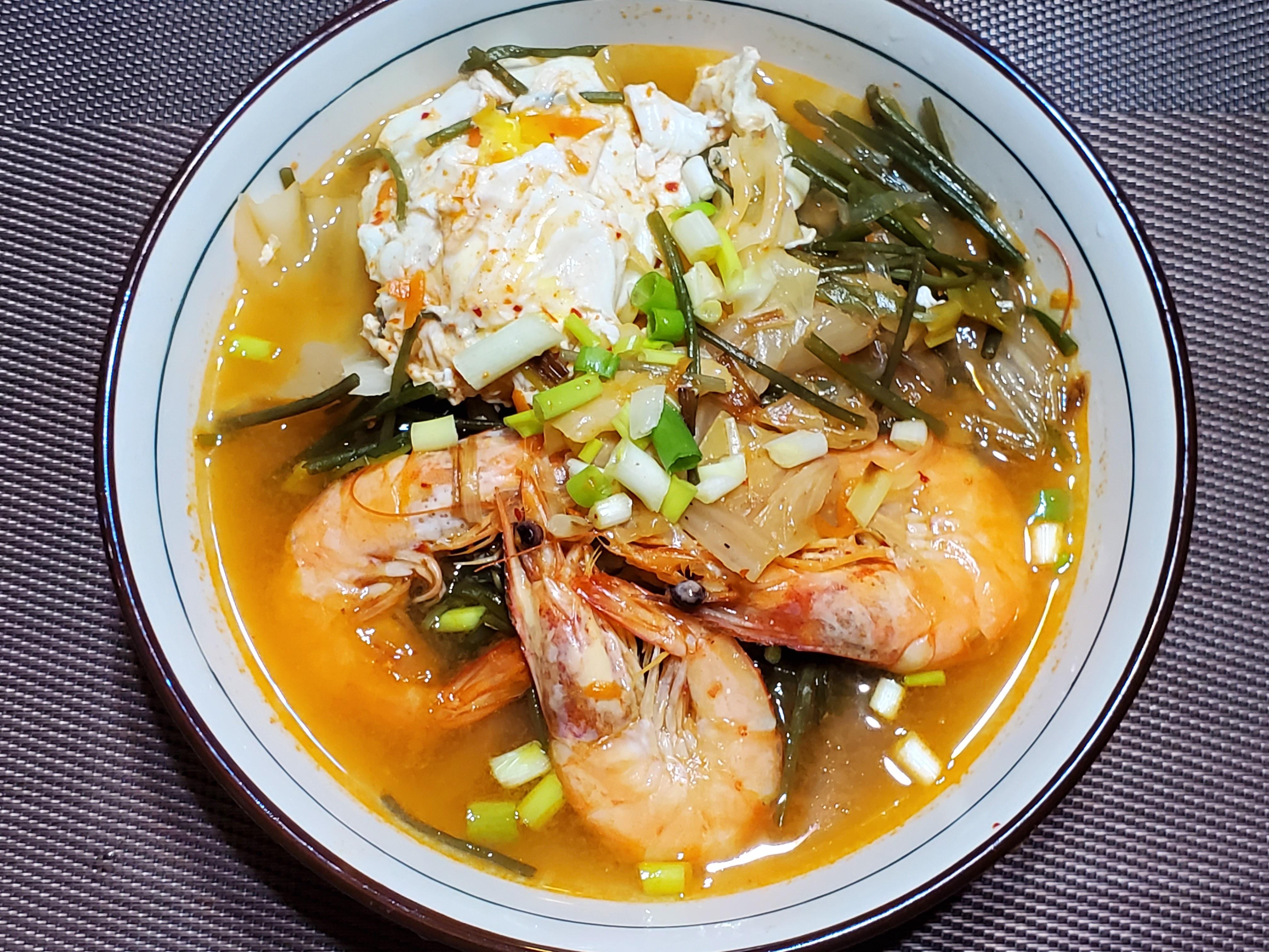 酸泡菜湯冬粉
