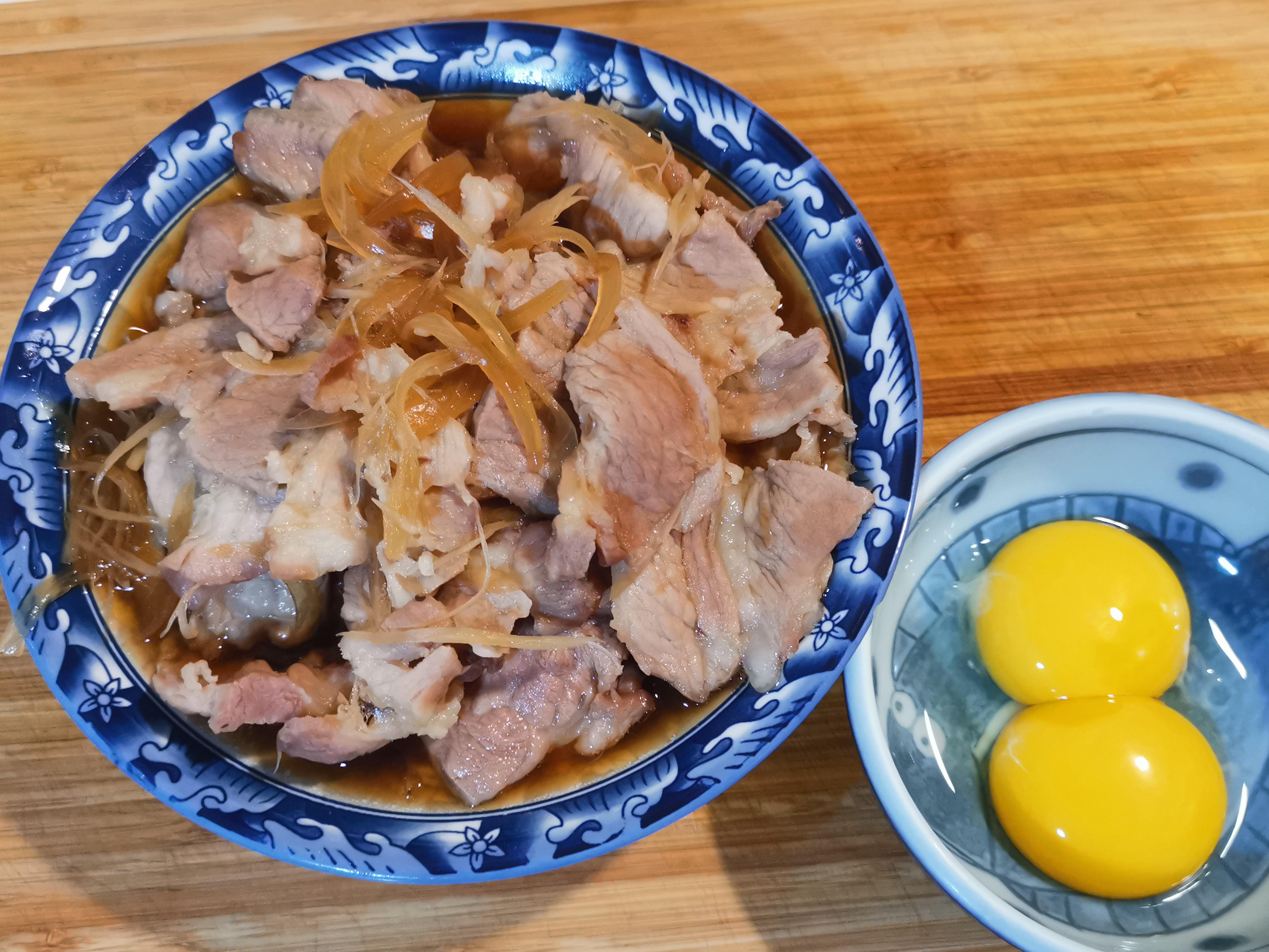 和風豚肉壽喜燒(純豚蓋飯版本)