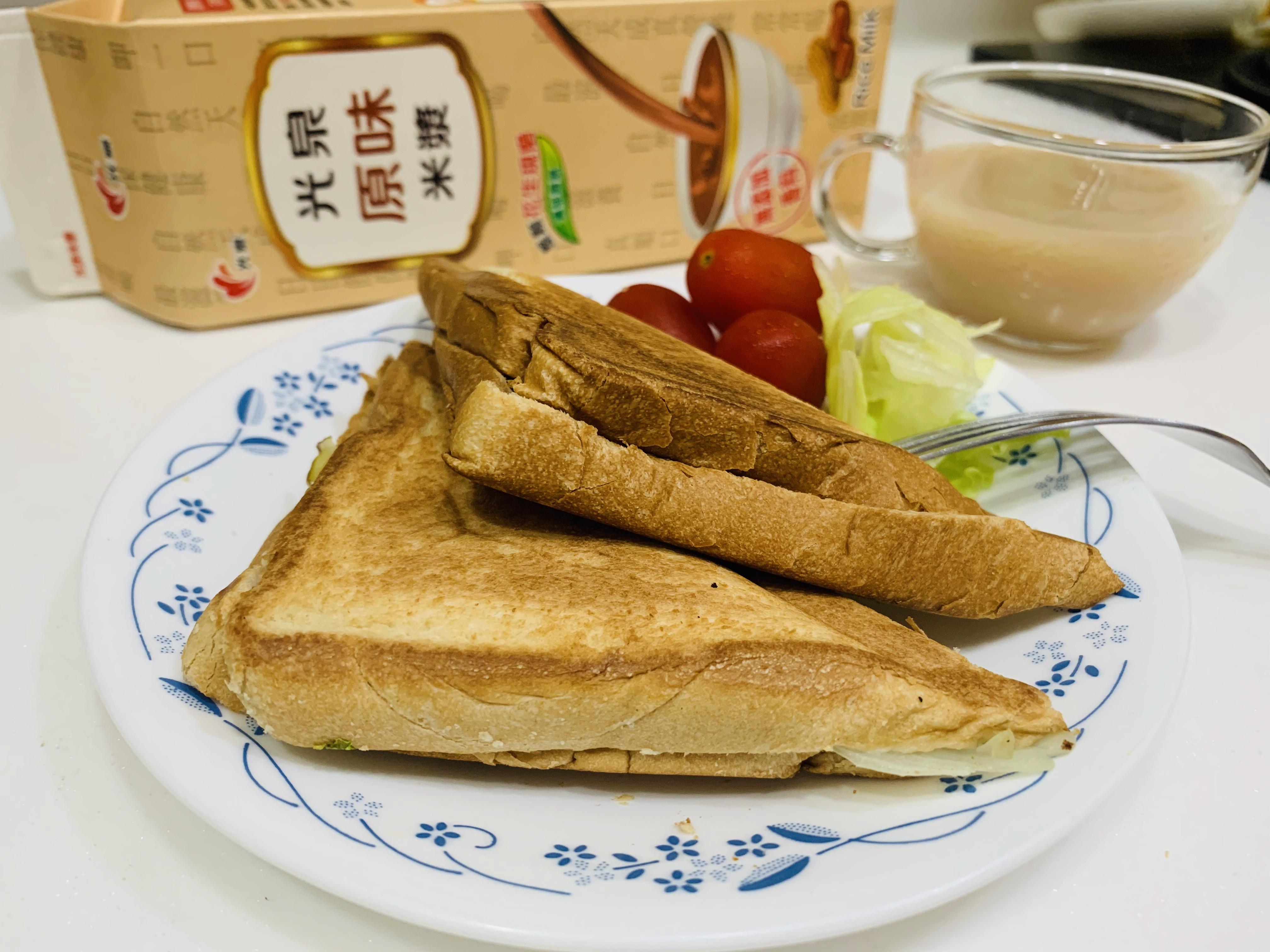 百搭芋米漿營養三明治