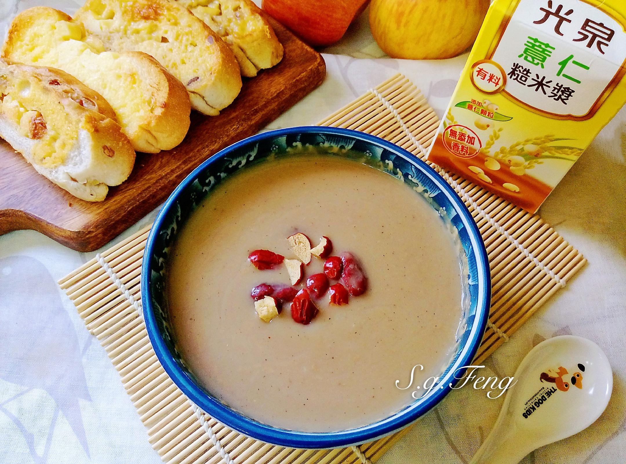 紅棗薏仁糙米漿(電鍋版)