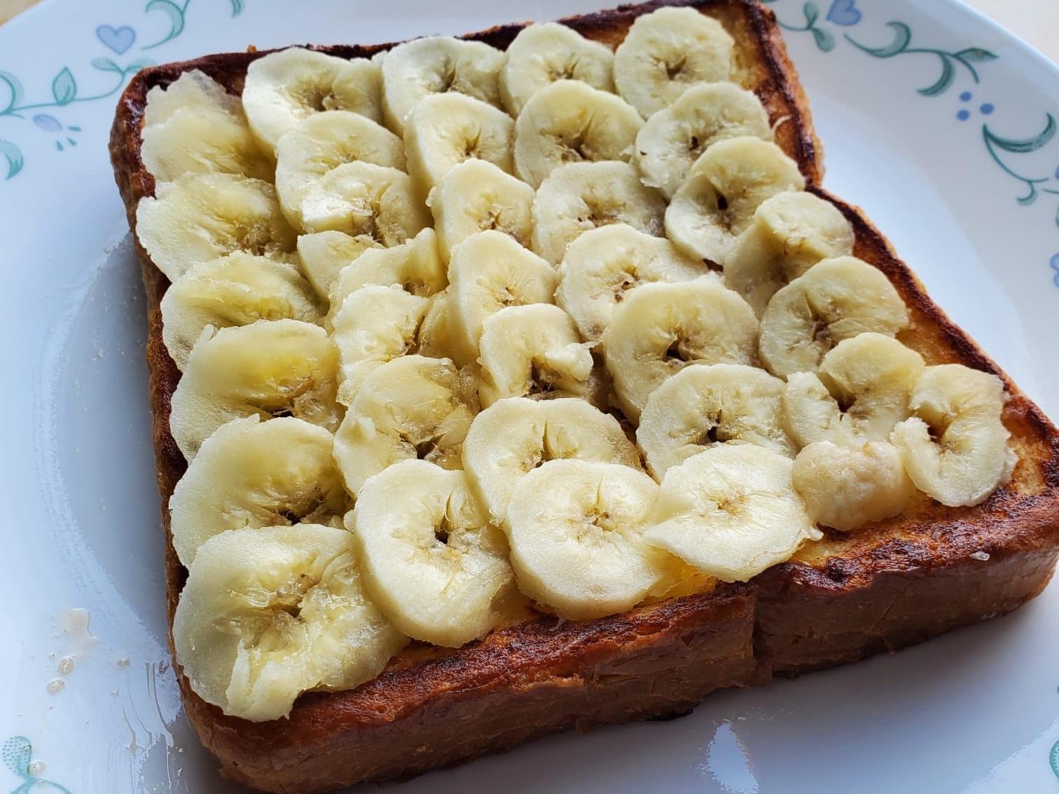 香蕉法式西多早餐
