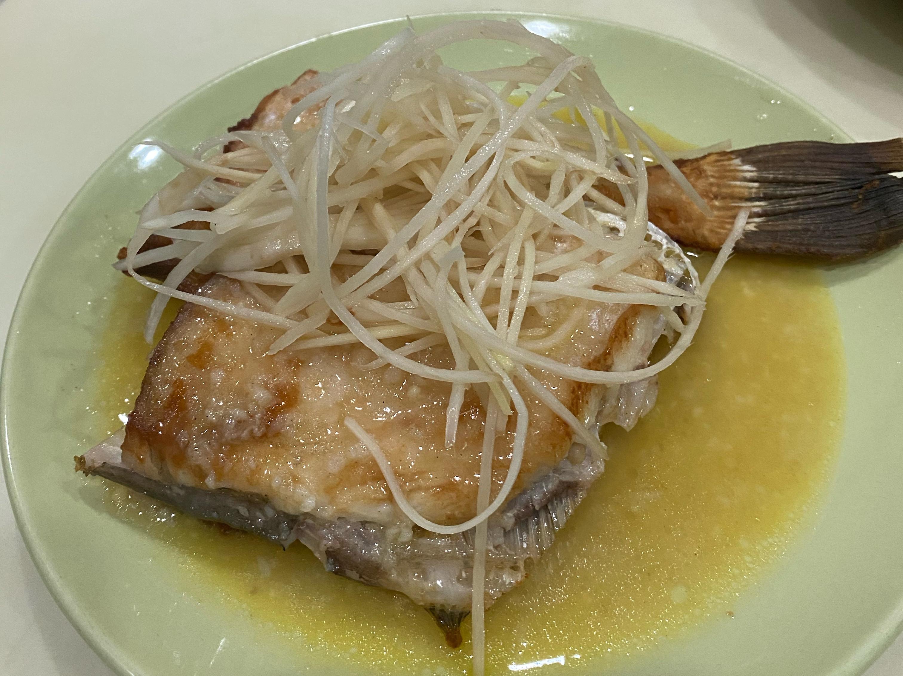 奶油檸檬剝皮魚