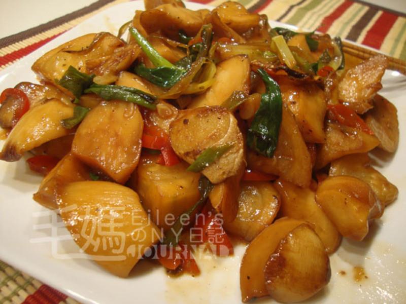 紅燒王子菇(杏鮑菇)