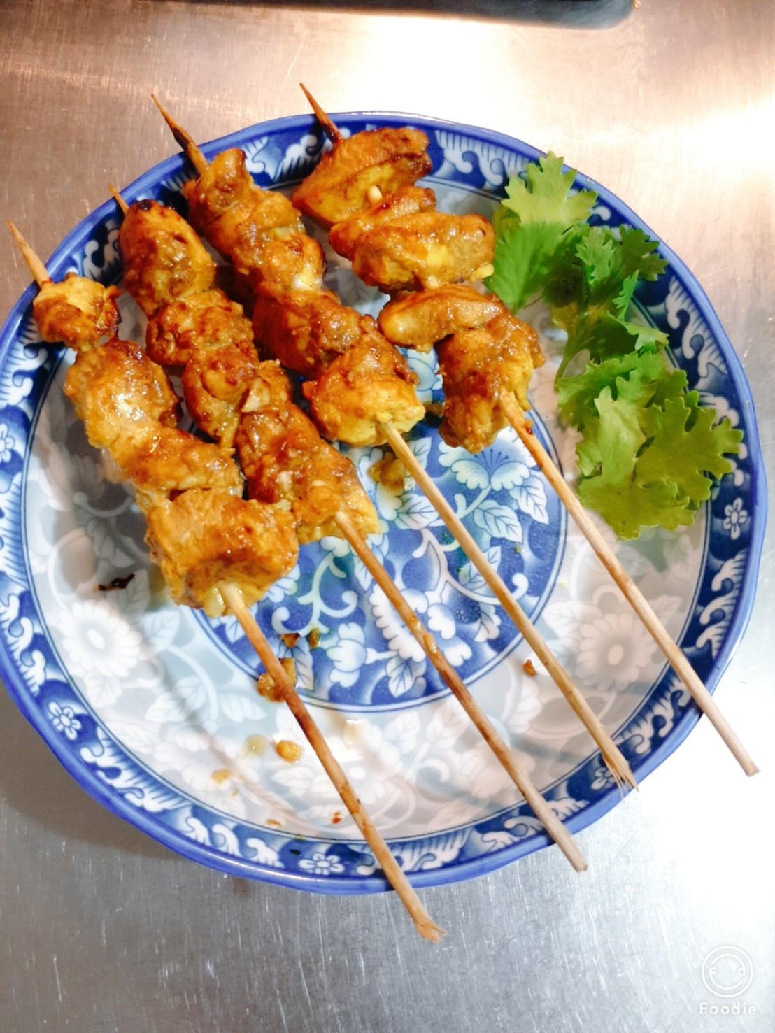印尼沙嗲雞肉(Bumbu Kecap)