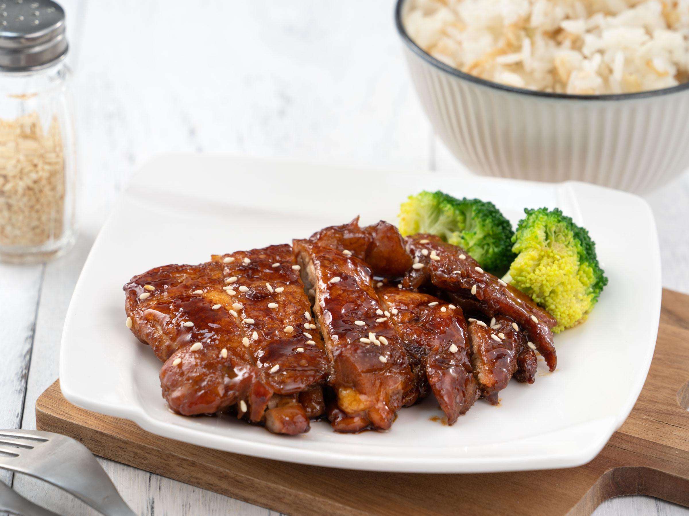 醬燒雞腿肉【頭道蠔鮮醬油】