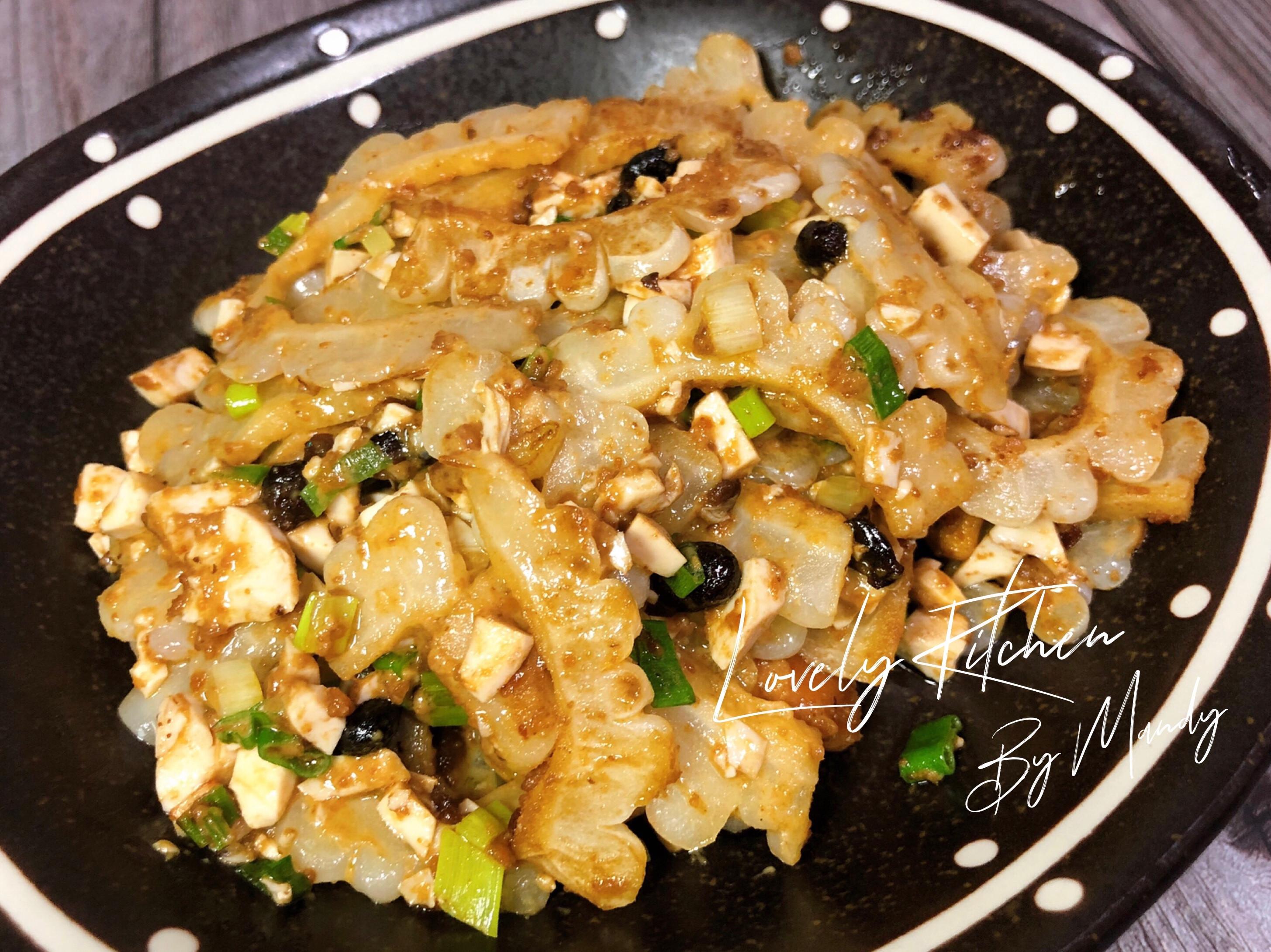 鹹蛋炒豆豉苦瓜