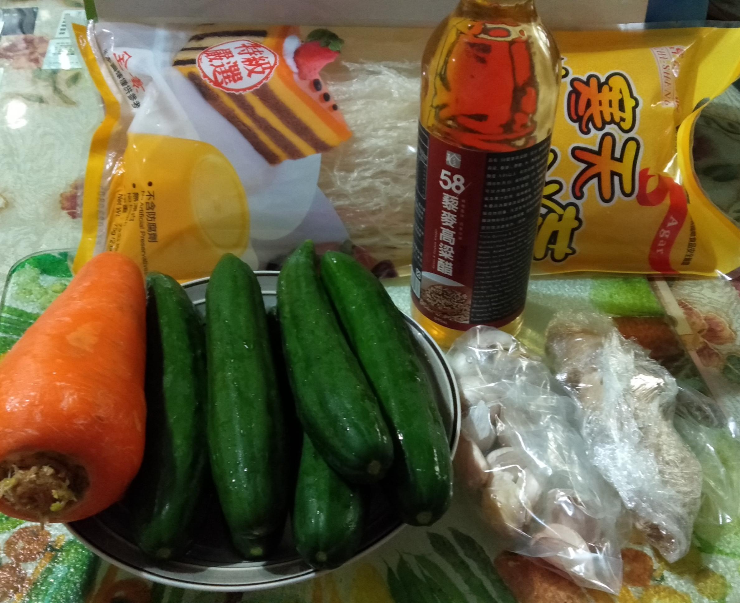 涼拌三絲(58/藜麥高梁醋)