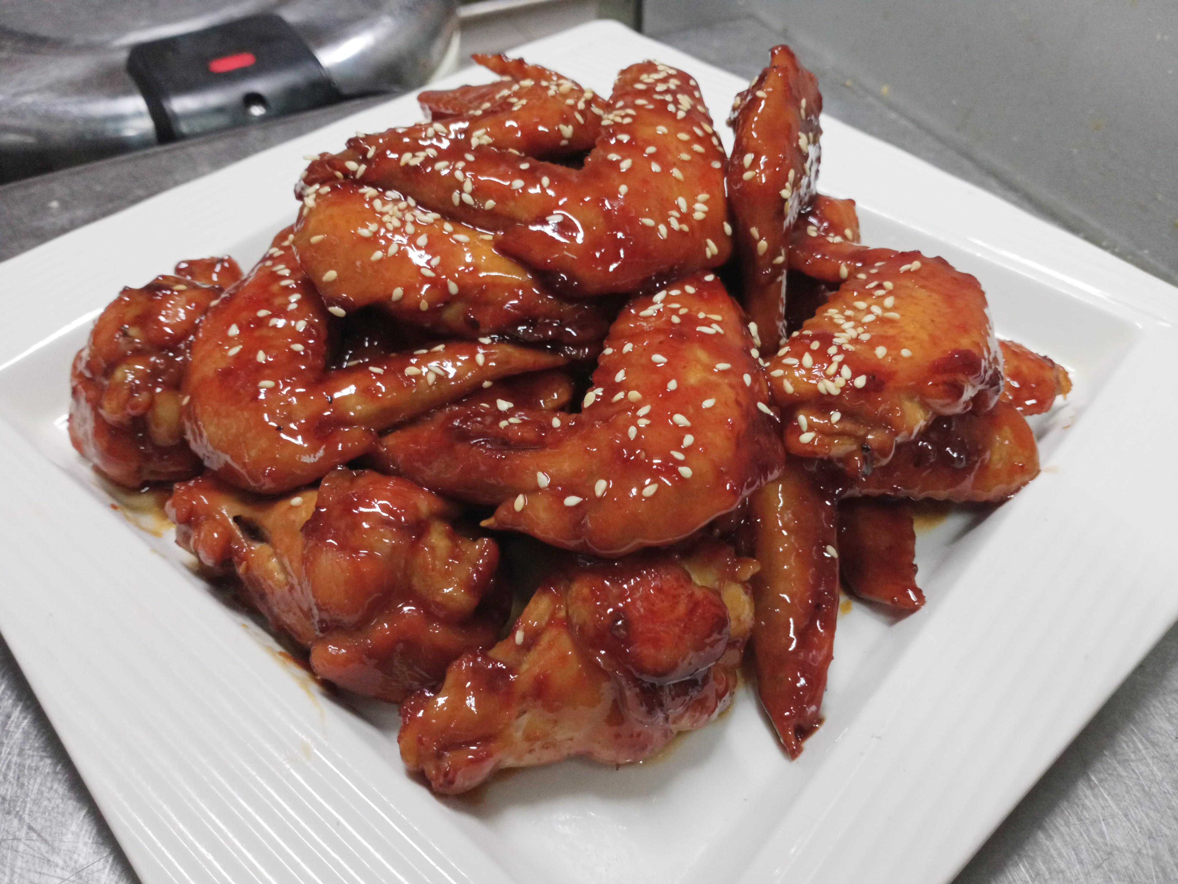 蜜汁燒雞翅