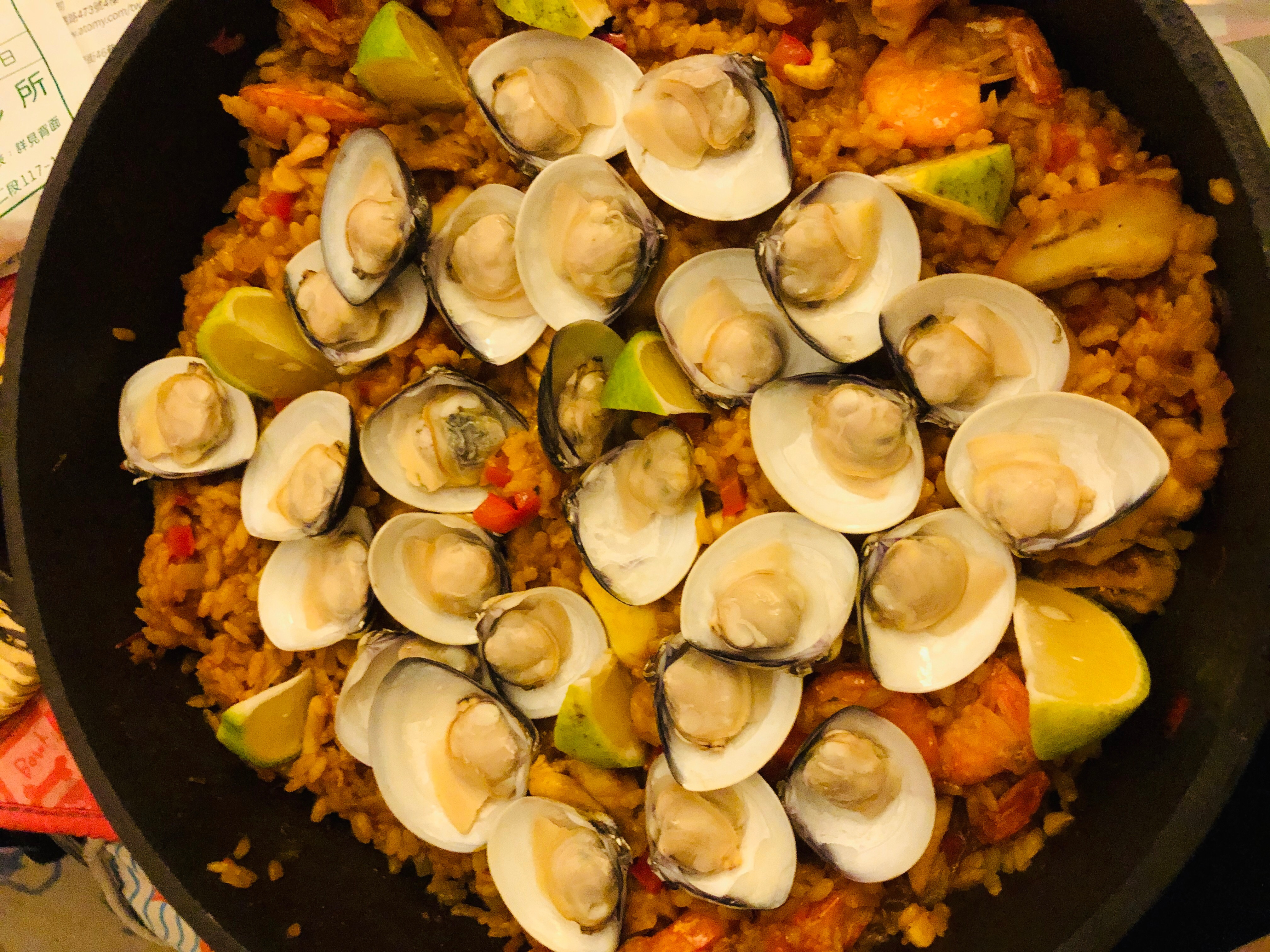 一鍋到底簡易版西班牙海鮮燉飯