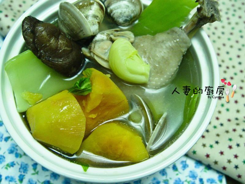 【上年菜】芥菜雞湯