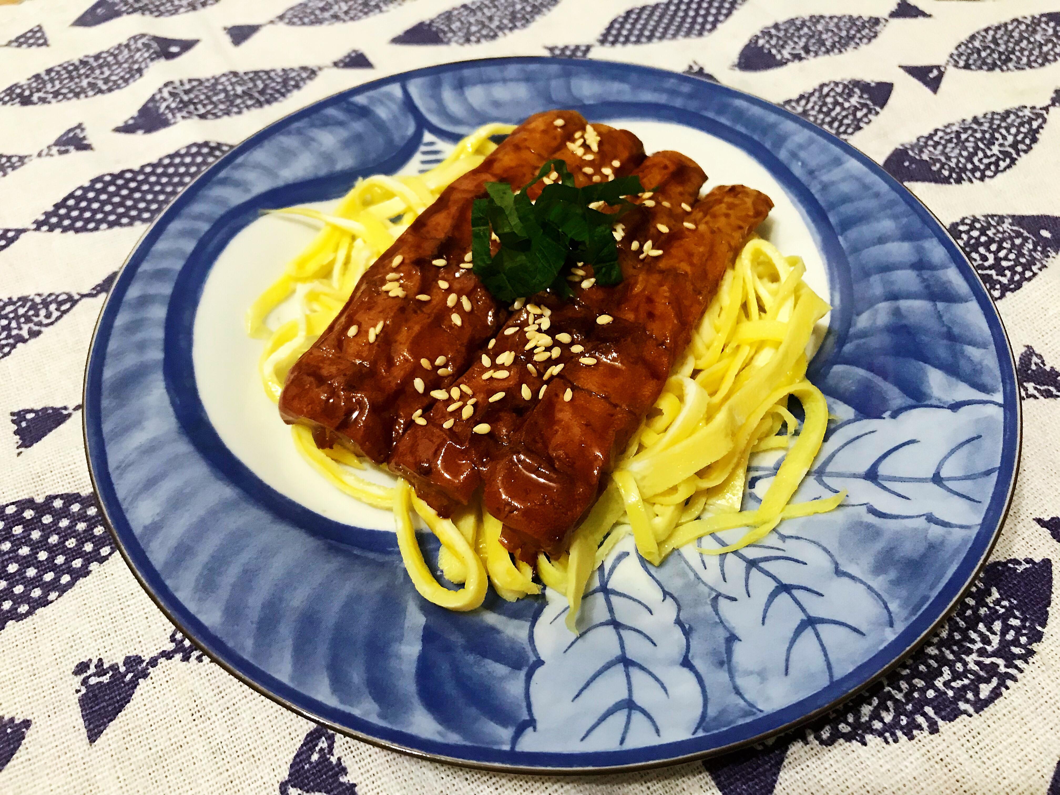 蒲燒鰻魚(竹輪版)