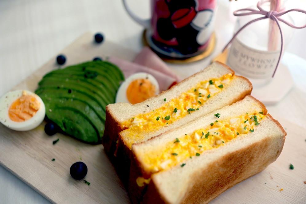 【日式雞蛋三明治】口感綿密濃郁超美味!