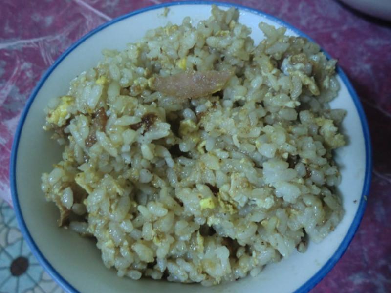 梅狀元陳醋老梅膏料理 - 火腿蛋炒飯