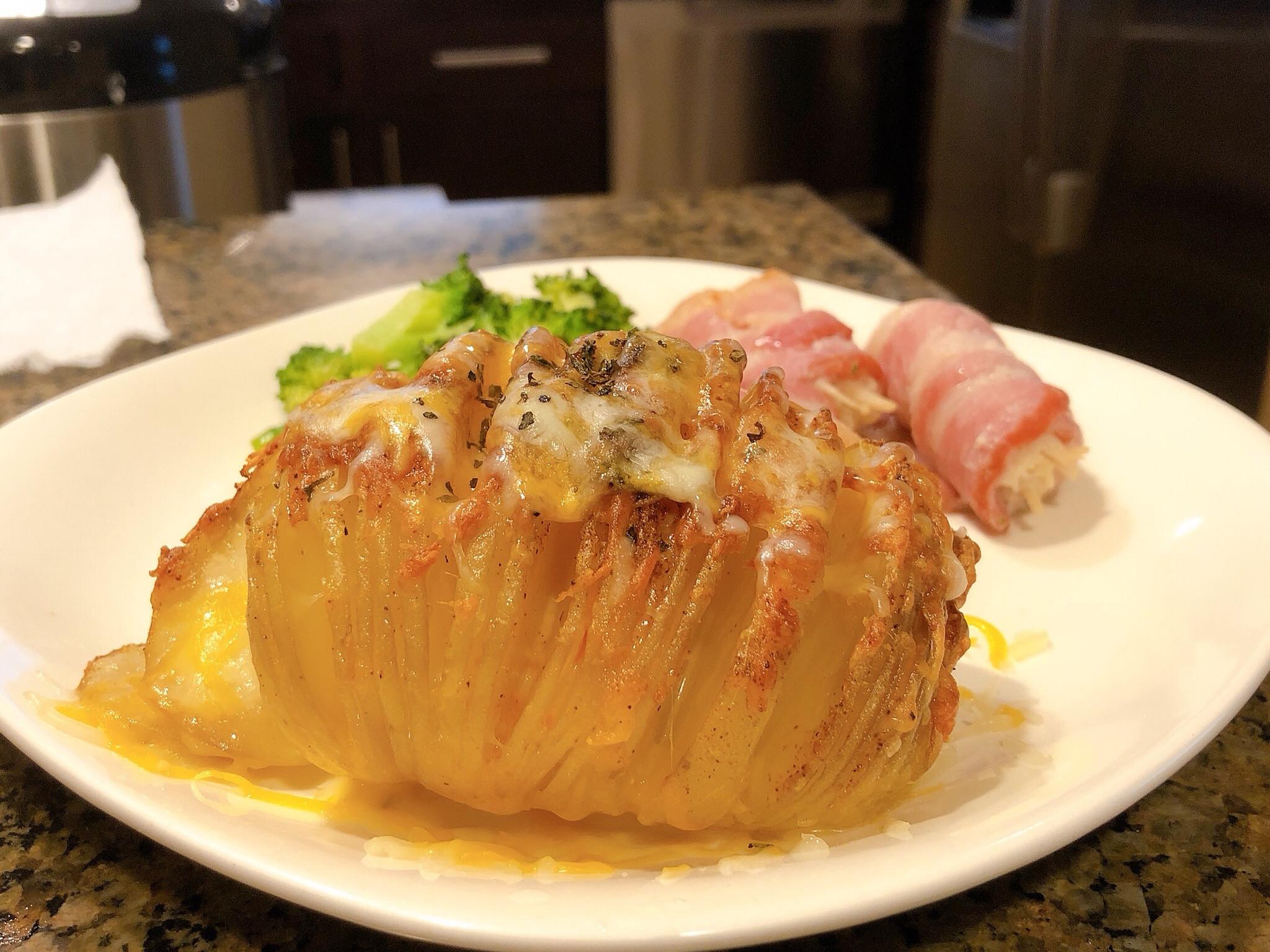 [家用小烤箱]做風琴馬鈴薯