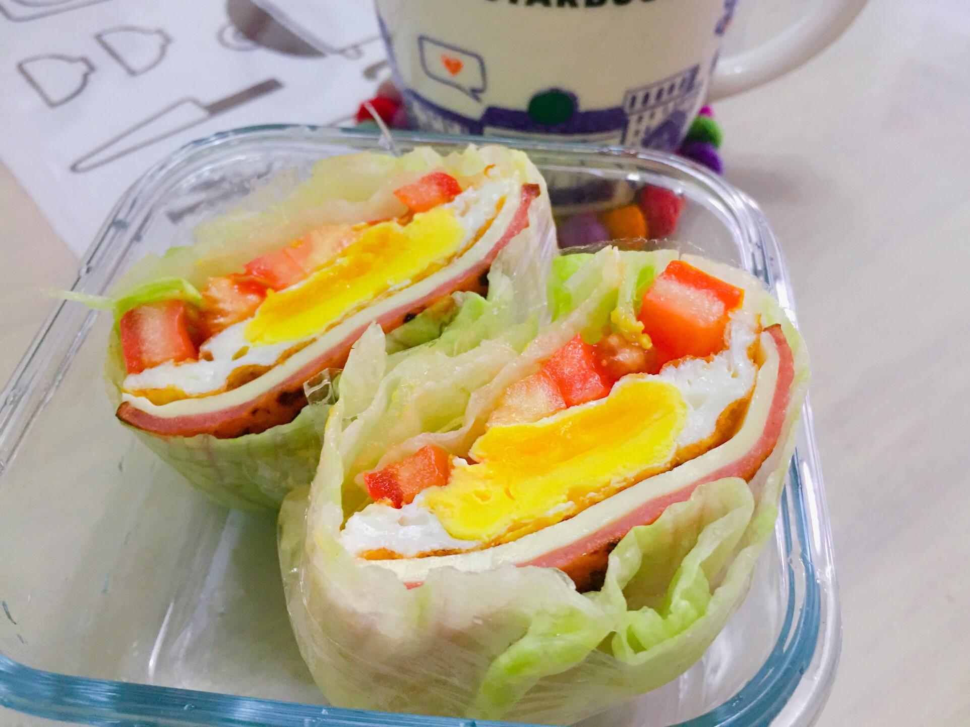 減醣蔬菜三明治