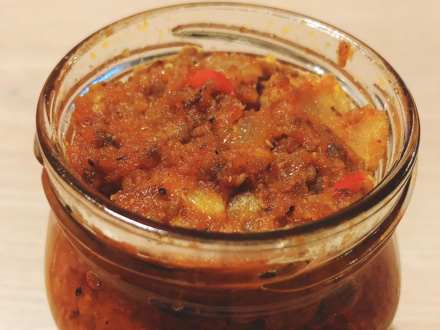 辣味義大利肉醬(自製番茄糊)