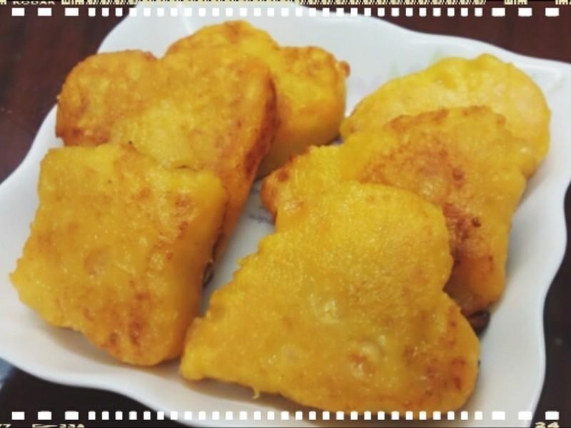 玉米地瓜點心餅