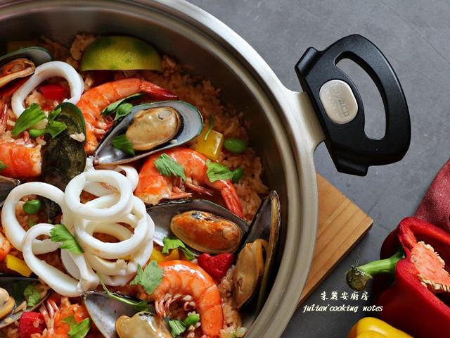 西班牙海鮮燉飯 簡單料理