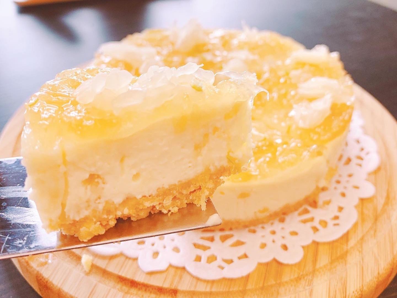 蜜柚香檸生乳酪