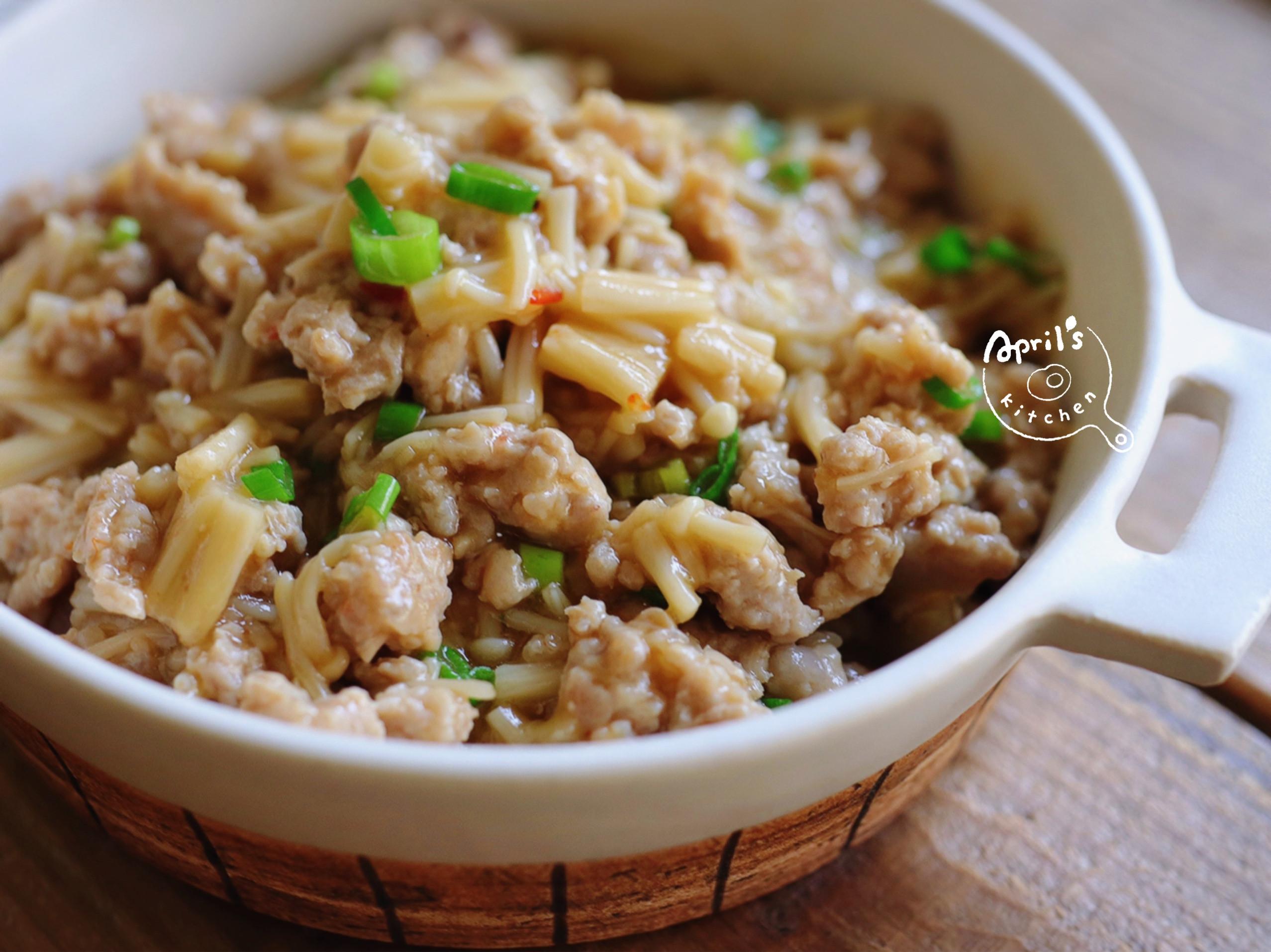 金針菇味噌肉燥