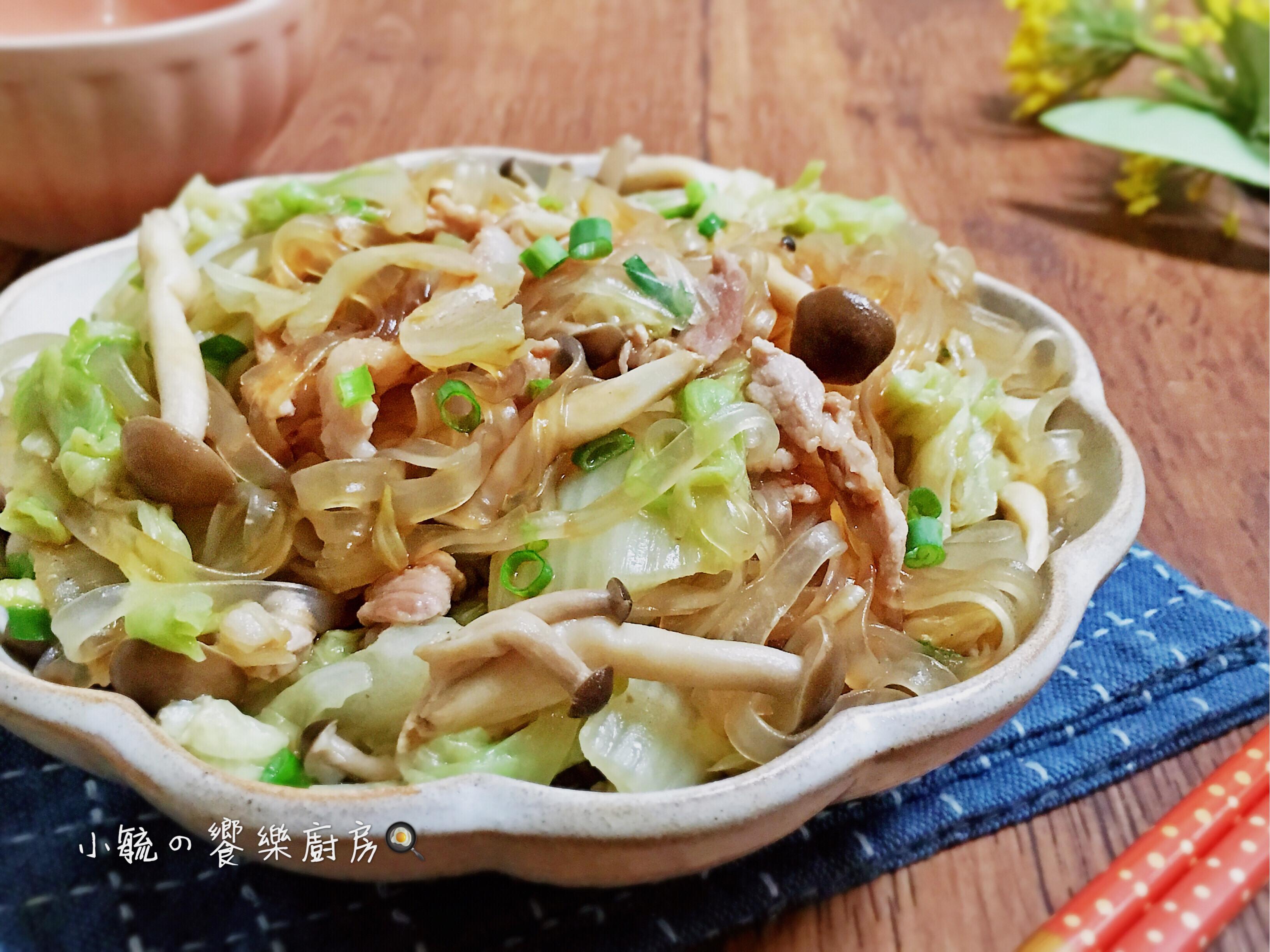 白菜鮮菇寬粉