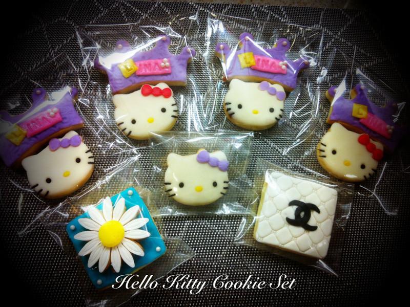 Hello Kitty & CHAEL 創意翻糖餅乾