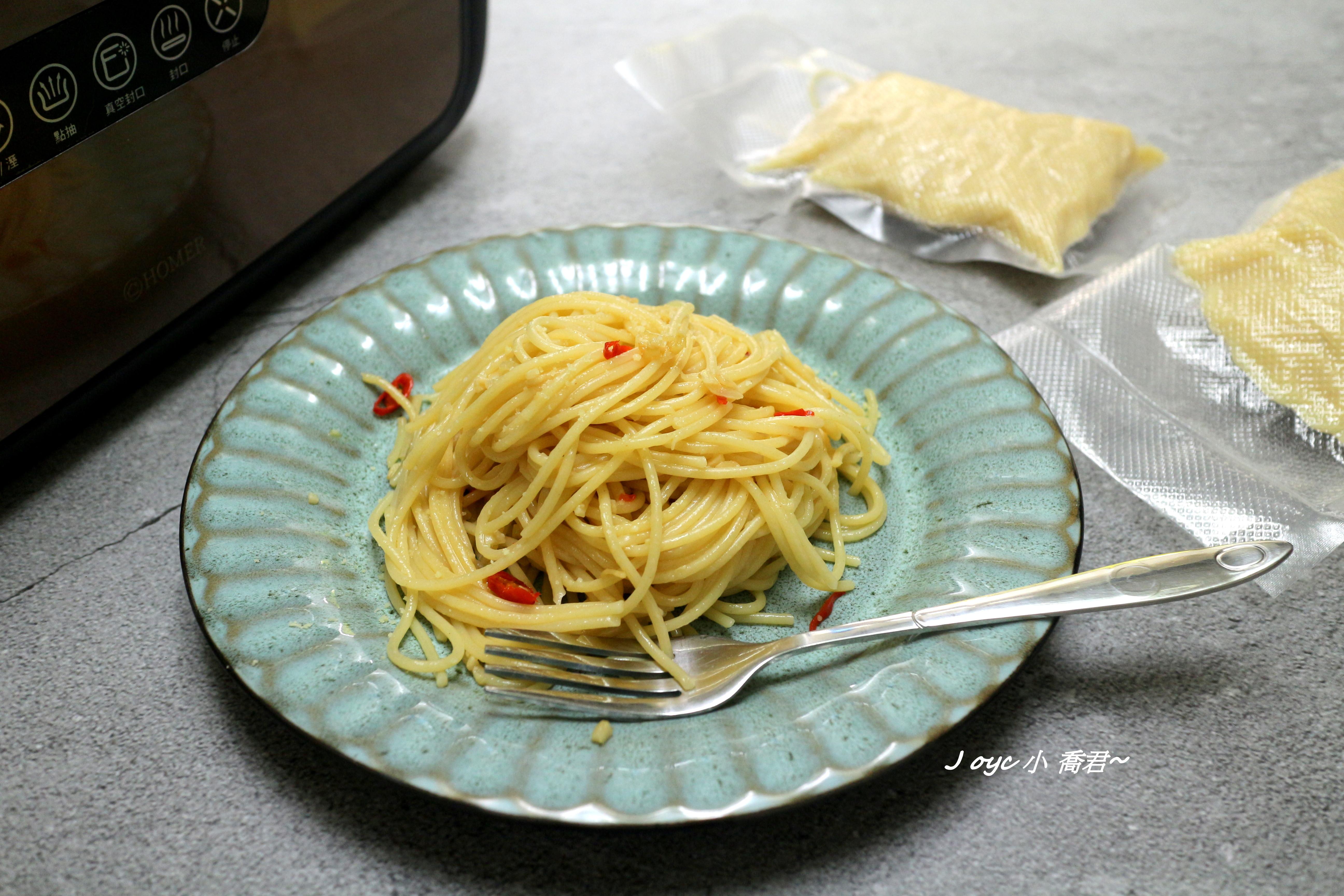 橄欖油蒜辣麵