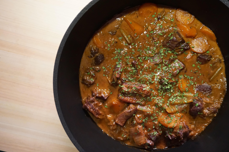 [影片][西式料理] 紅酒炆牛腩