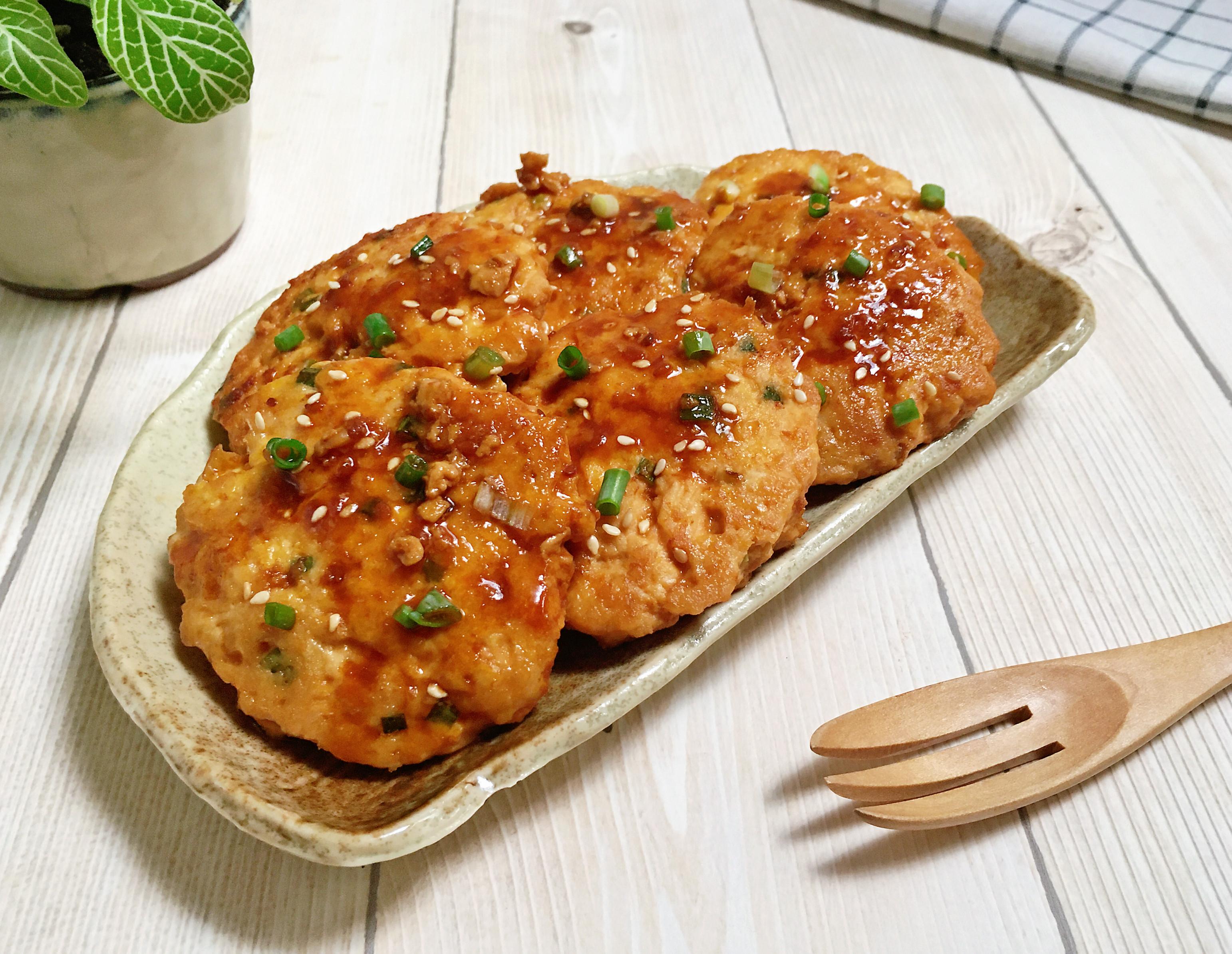 照燒雞肉豆腐排 【日式照燒烤肉醬】