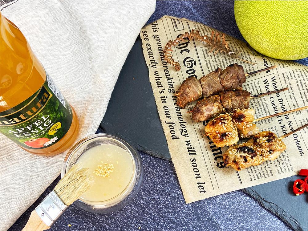 平衡油膩的清爽醬料-柚香蘋果醋醬