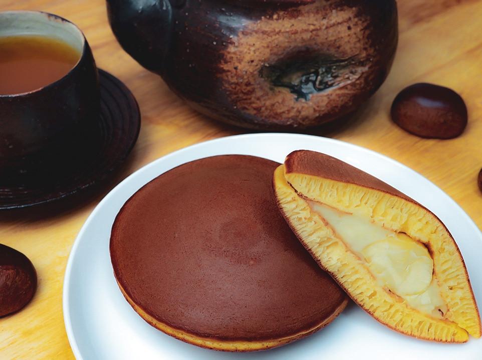 日式銅鑼燒 |栗子口味 |秋天的味道