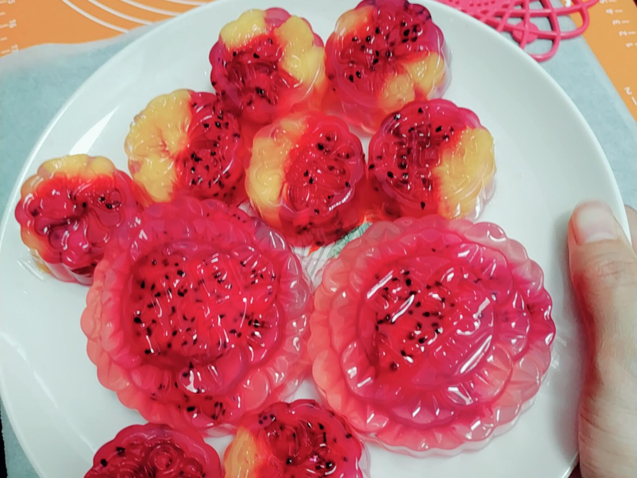 水果燕菜果凍月餅